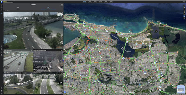 Vizzion's traffic cameras in Puerto Rico integrated into PDC's DisasterAWARE platform