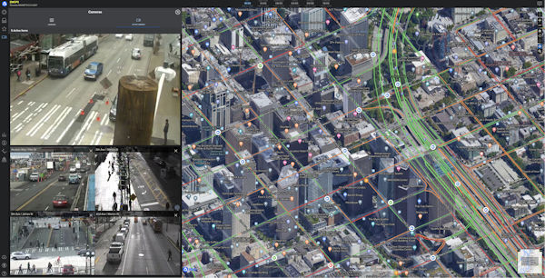 Vizzion's traffic cameras in Seattle integrated into PDC's DisasterAWARE platform